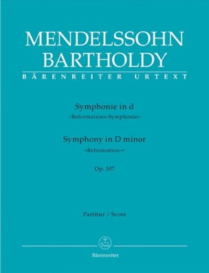 MENDELSSOHN - Symphony in D Min. Op. 107 - Sheet Music - di-arezzo.co.uk