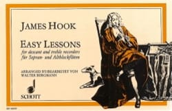 James Hook - Easy Lessons - Partition - di-arezzo.fr