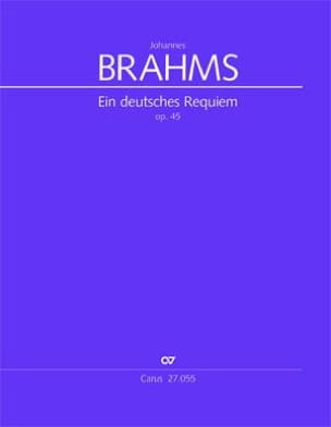 Ein Deutsches Requiem Op. 45 - BRAHMS Partition laflutedepan