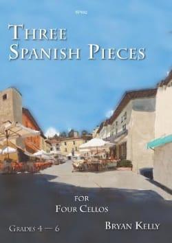 Bryan Kelly - 3 Spanish Pieces - Sheet Music - di-arezzo.com