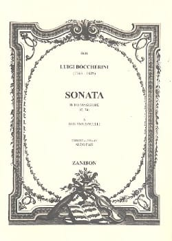 Luigi Boccherini - Sonata in do magg a due violoncelli - Partition - di-arezzo.fr