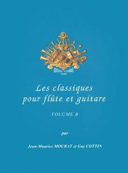 Les Classiques Pour Flûte et Guitare Vol.B - laflutedepan.com
