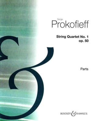 Serge Prokofiev - String Quartet N ° 1 Opus 50 - Parts - Sheet Music - di-arezzo.co.uk