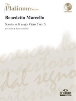 Sonate en Sol Majeur Op 2 N°5 - Benedetto Marcello - laflutedepan.com