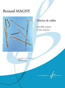 Bernard Magny - Sand Mirrors - Sheet Music - di-arezzo.co.uk