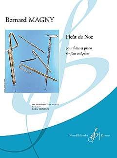 Fleût De Noz - Bernard Magny - Partition - laflutedepan.com