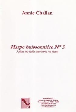Annie Challan - El Buissonnière Arpa N ° 3 - Partitura - di-arezzo.es