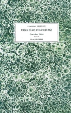 François Devienne - Trois Duos Concertants Oeuvre 81 - Partition - di-arezzo.fr