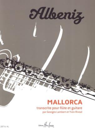 Mallorca ALBENIZ Partition Duos - laflutedepan
