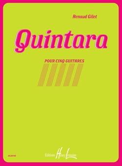 Quintara - Renaud Gillet - Partition - Guitare - laflutedepan.com