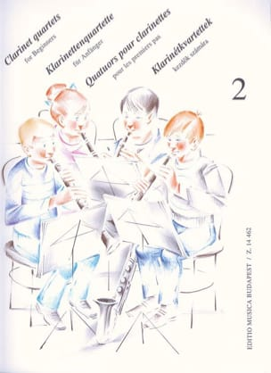 - Clarinet Quartets For Beginners Vol 2 - Sheet Music - di-arezzo.com