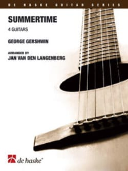 George Gershwin - Summertime - 4 Guitares - Partition - di-arezzo.fr
