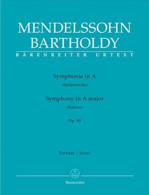 MENDELSSOHN - Symphonie en la Majeur Op.90 Italienne - Partition - di-arezzo.fr