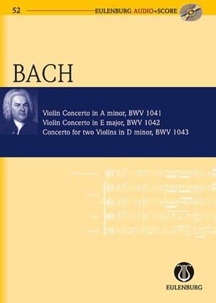 Concertos pour violon - BACH - Partition - laflutedepan.com