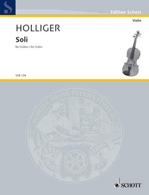 Heinz Holliger - Soli - Partition - di-arezzo.fr