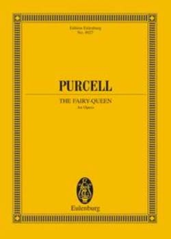 Henry Purcell - The Fairy Queen - Partition - di-arezzo.fr