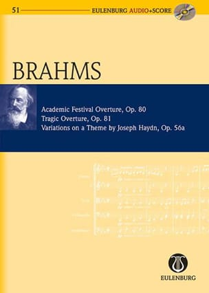 Ouvertures Op.80 et 81 & Variations Theme De Haydn Op.56a - laflutedepan.com