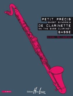 Petit Précis de Clarinette Basse Michel Pellegrino laflutedepan