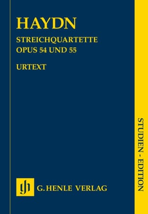Quatuors à cordes volume VII op. 54 et 55 Quatuors Tost - laflutedepan.com