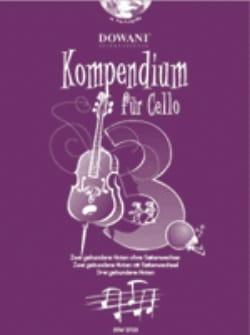 Kompendium Für Cello Volume 3 - Partition - laflutedepan.com