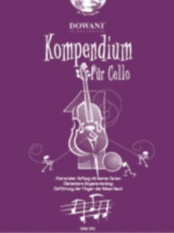 Kompendium Für Cello Volume 1 Partition Violoncelle - laflutedepan