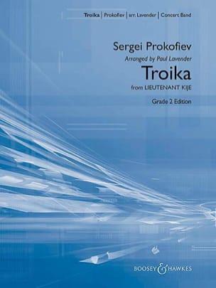 Serge Prokofiev - Troika Ewtr.Locateful Kije - Sheet Music - di-arezzo.co.uk