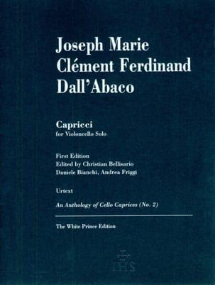 Capricci Joseph Clemens Dall'Abaco Partition laflutedepan