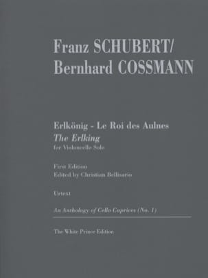 SCHUBERT - The King of the Aulnes / Erlkönig - Sheet Music - di-arezzo.co.uk