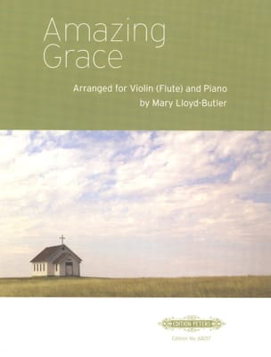 Amazing Grace - Partition - Violon - laflutedepan.com