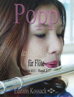 Wilhelm Popp - Schule Der Geläufigkeit Op. 411 Volume 2 - Partition - di-arezzo.fr