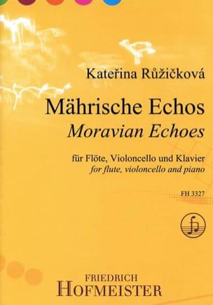 Katerina Ruzickova - Moravian Echoes - Partition - di-arezzo.fr