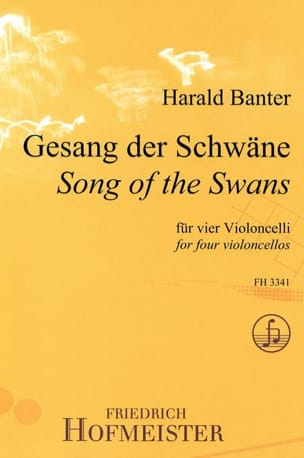 Song Of The Swans Harald Banter Partition Violoncelle - laflutedepan