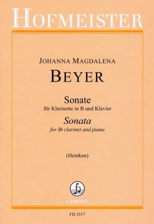 Johanna Magdalena Beyer - Sonate - Partition - di-arezzo.fr