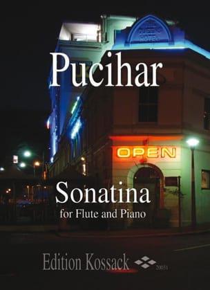 Sonatina Op.5 Blaz Pucihar Partition Flûte traversière - laflutedepan