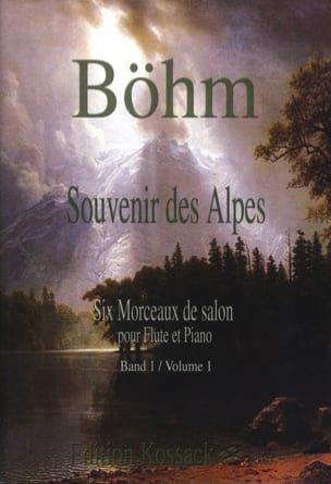 Souvenir des Alpes Volume 1 - Theobald Boehm - laflutedepan.com