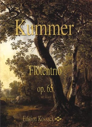 Flötentrio Op. 65 Gaspard Kummer Partition laflutedepan