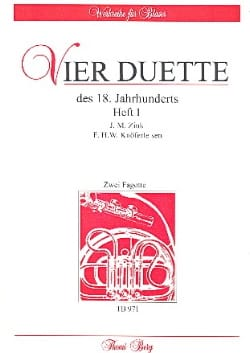 Zink / Knöferle - 4 Duos of the 18th Century Volume 1 - Sheet Music - di-arezzo.com