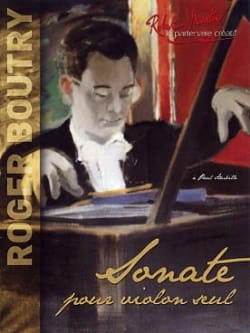 Roger Boutry - Sonate - Partition - di-arezzo.fr