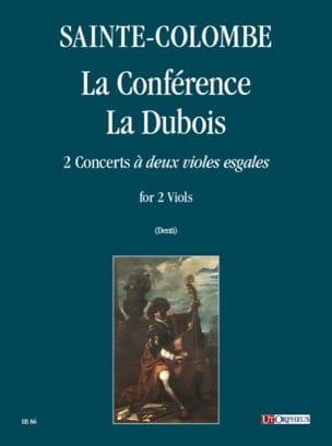 La Conférence - La Dubois Colombe Jean De Sainte laflutedepan
