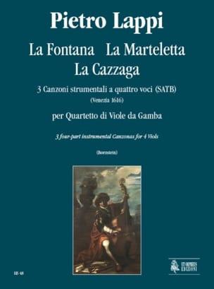 Pietro Lappi - The Fontana - the Marteletta - the Cazzaga - Sheet Music - di-arezzo.com