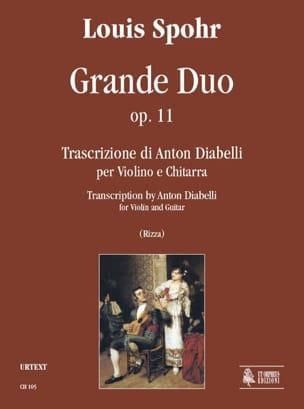 Grand Duo Op.11 SPOHR Partition 0 - laflutedepan