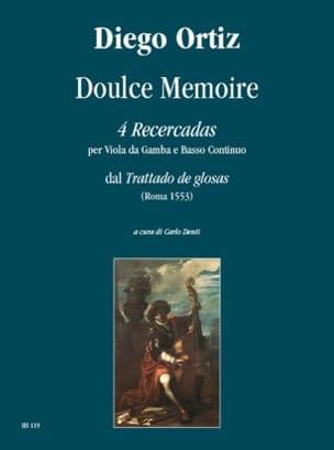 Diego Ortiz - 4 Recercadas - Memory Doulce - Sheet Music - di-arezzo.co.uk