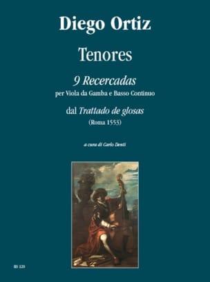 Diego Ortiz - Tenores - 9 Recercadas - Partition - di-arezzo.fr