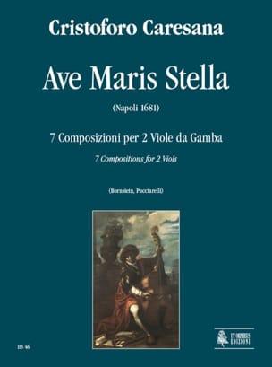 Cristoforo Caresana - Ave Maris Stella 1681 - Partition - di-arezzo.fr