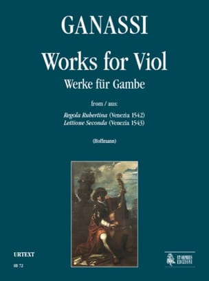 Silvestro Ganassi - Works for Viole de Gambe - Sheet Music - di-arezzo.co.uk