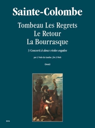 Colombe Jean De Sainte - Tomb the Regrets - the Return - the Squall - Sheet Music - di-arezzo.com