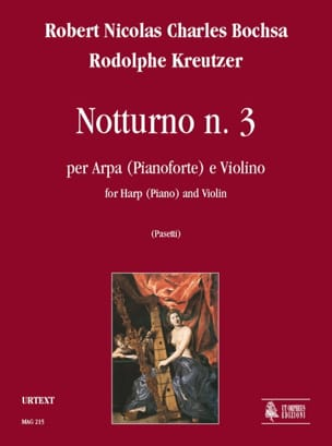 Nocturne N°3 Bochsa Charles / Kreutzer Rodolphe Partition laflutedepan