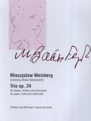 Mieczyslaw Weinberg - Threesome Op. 24 - Sheet Music - di-arezzo.com