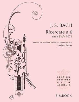 BACH - Ricercare A 6 - Bwv 1079 - Partitura - di-arezzo.es