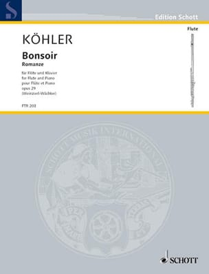 Ernesto KÖHLER - Good evening - Romance Op.29 - Sheet Music - di-arezzo.com